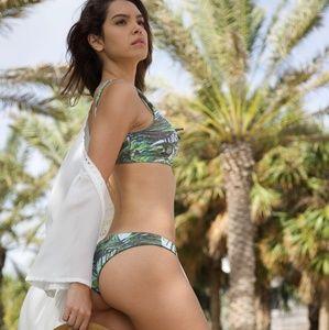 Other - Green reversible leaf print cheeky bikini bottoms